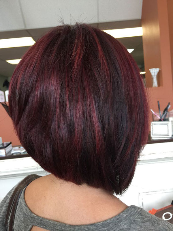 Hair Color Idea Red Highlights On Short Black Hair Do You Want To