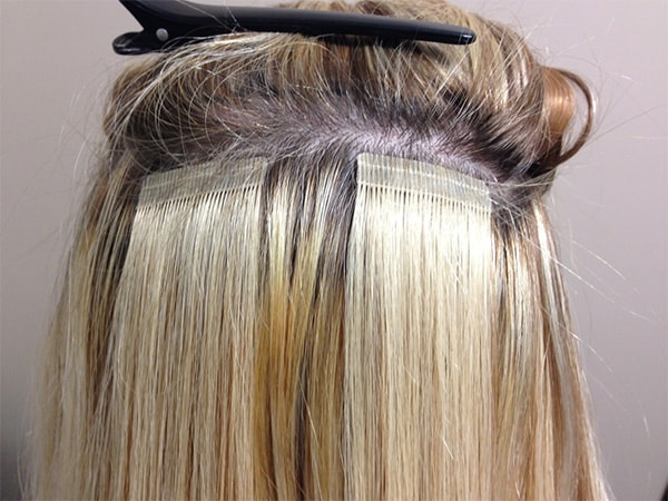 best shampoo for tape extensions